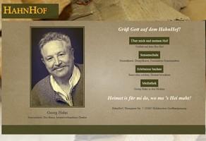 HahnHof: Bio-Bauer und Sensenlehrer Geog Hahn
