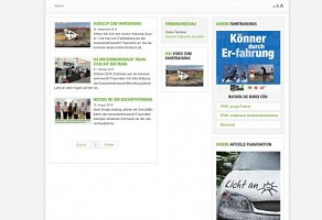 Internetauftritt: Kreisverkehrswacht Traunstein