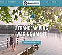 Internetauftritt: Strandcamping Waging am See