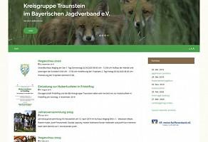 Internetauftritt: Bayerischer Jagdverband Kreisgruppe Traunstein