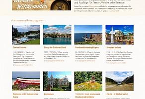Internetauftritt: Waldherr Touristik GmbH